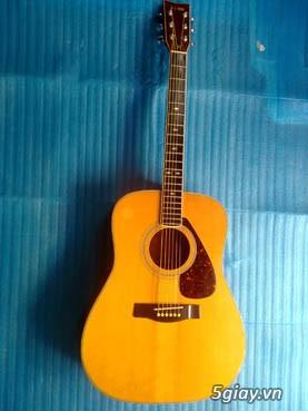 Acpoustic guitar Morris và Yamaha sản xuất tại Nhật - 31