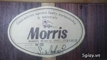 Acpoustic guitar Morris và Yamaha sản xuất tại Nhật - 27