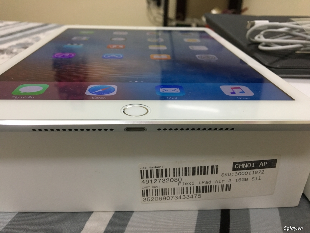 Ipad Air 2 4G Wifi ( 16gb màu trắng )