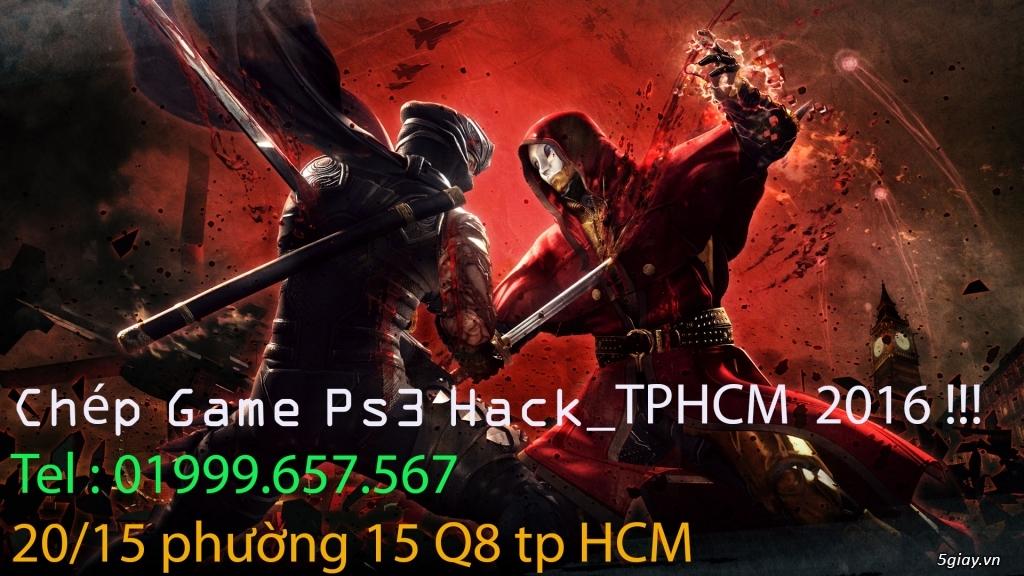 Chép Game Cho PS3 Hack_TP Hồ Chí Minh 2016!