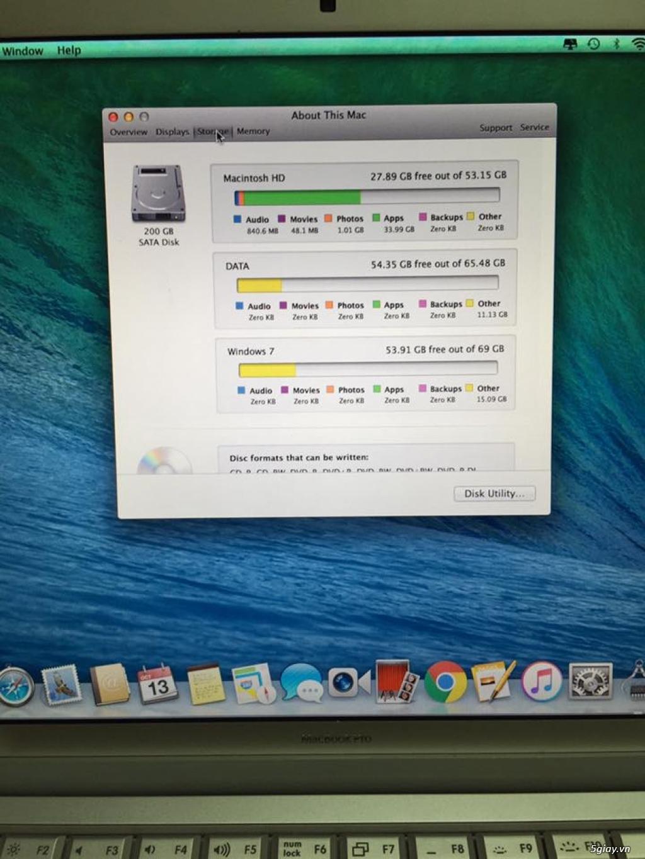 <BÁN GẤP> MacBook Pro giá 4trxx bao rẻ nhất luôn nhé ( đang cần tiền trả nợ ) - 4