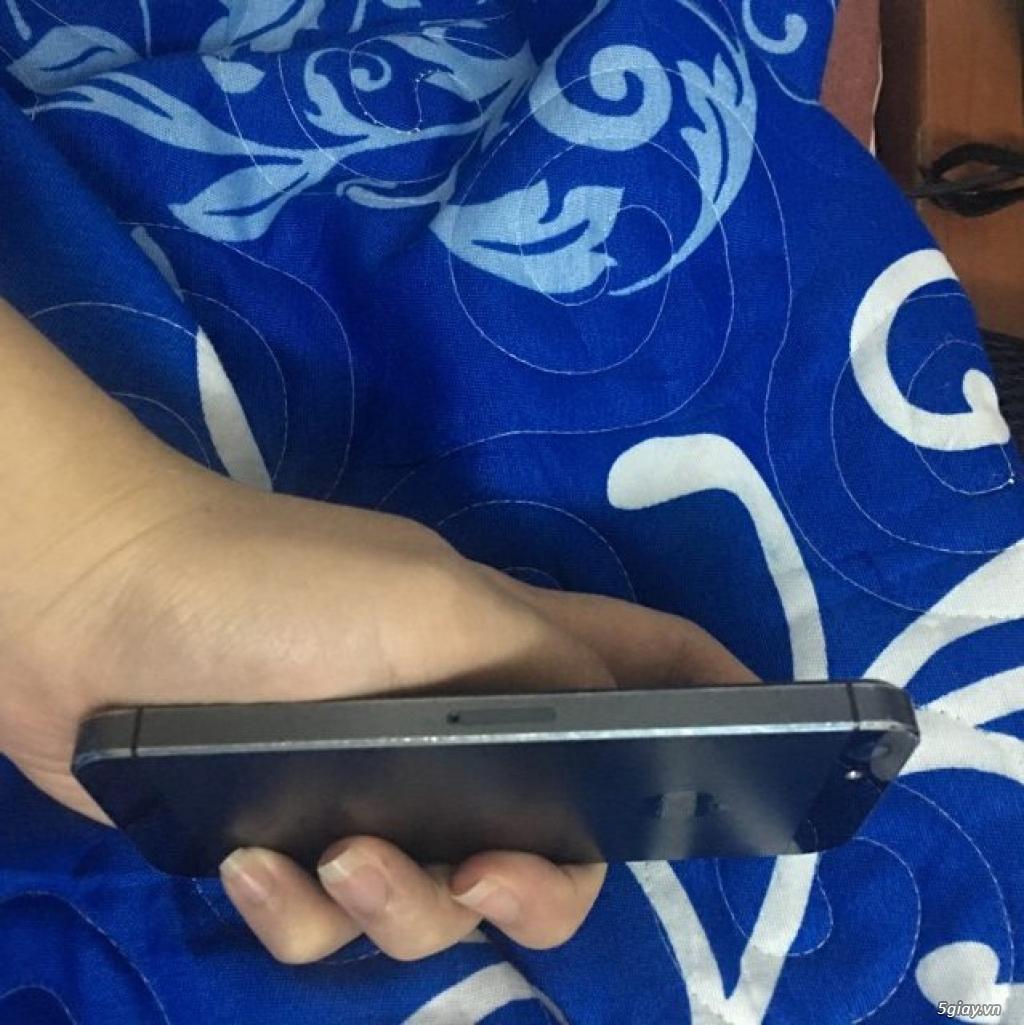 Điện thoại xài chán bán đỡ lỗ Iphone 5 16g 2,3 củ QT Đen 97% :85: - 7