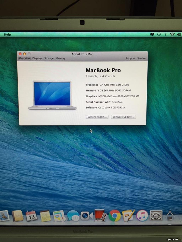 <BÁN GẤP> MacBook Pro giá 4trxx bao rẻ nhất luôn nhé ( đang cần tiền trả nợ ) - 3