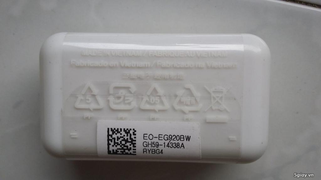 Chuyên bán sạc cáp-tainghe-vỏ-pin-linh kiện samsung s6 s7 note5 7 chính hãng - 5