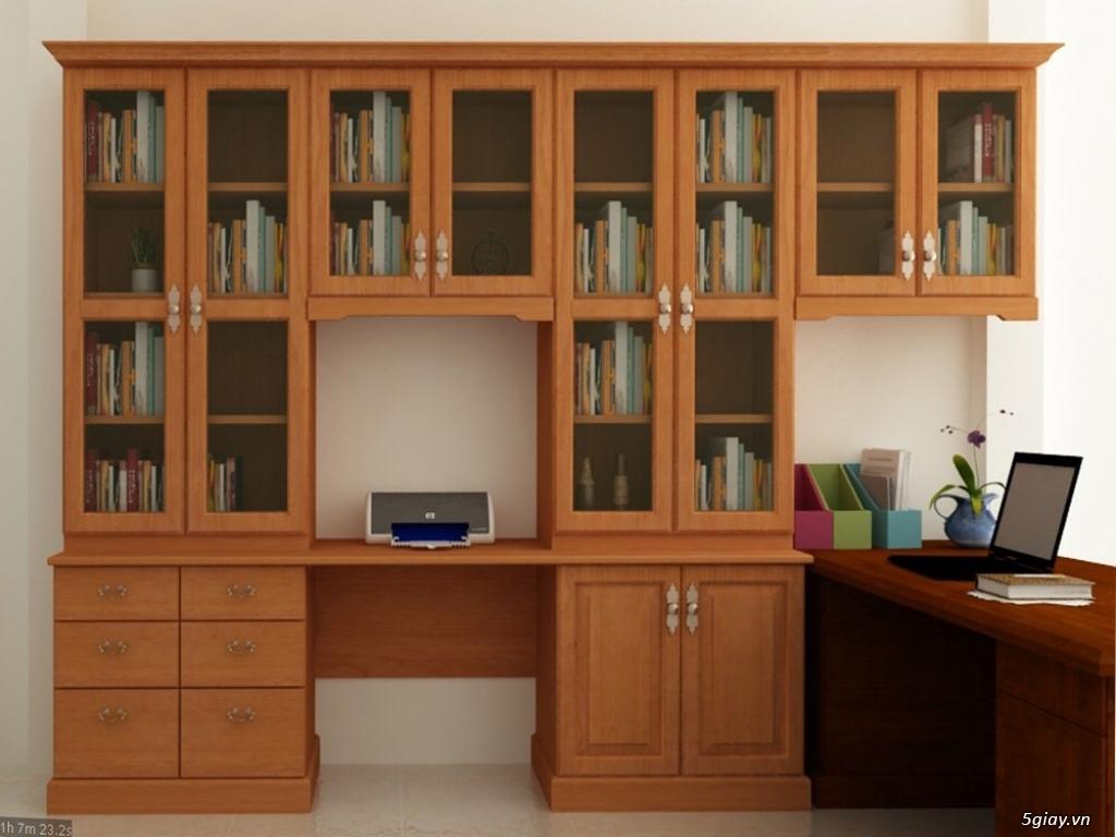 Nơi đóng tủ gỗ theo yêu cầu tại hcm 0937618272- - đẹp - 1
