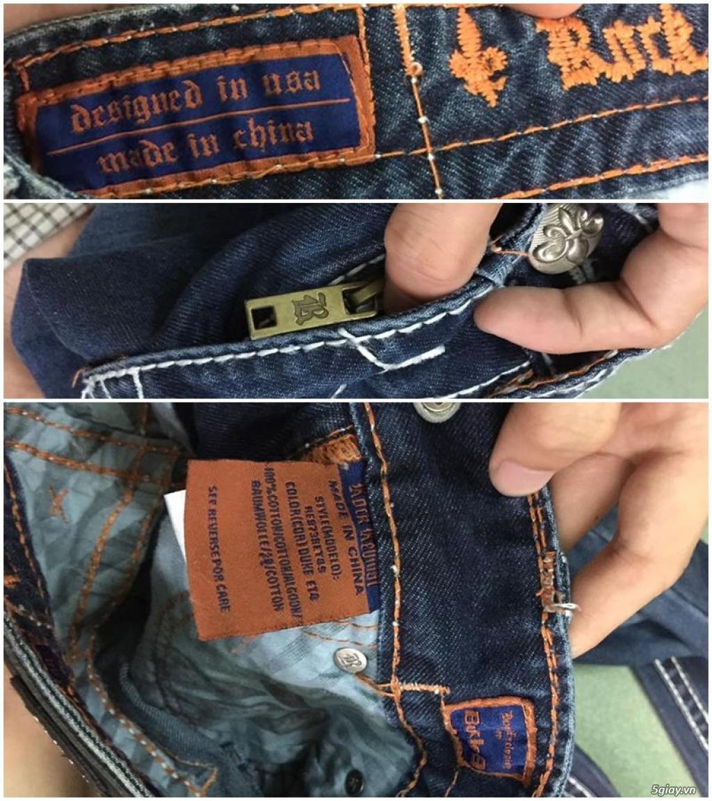 Quần jean si đa ( 2hand ) của các hãng Ông địa , D&G , A/X...  nhập từ USA , Italy ... - 32