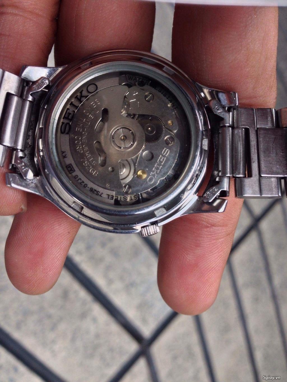 Bán đồng hồ Seiko 5 automatic - 1