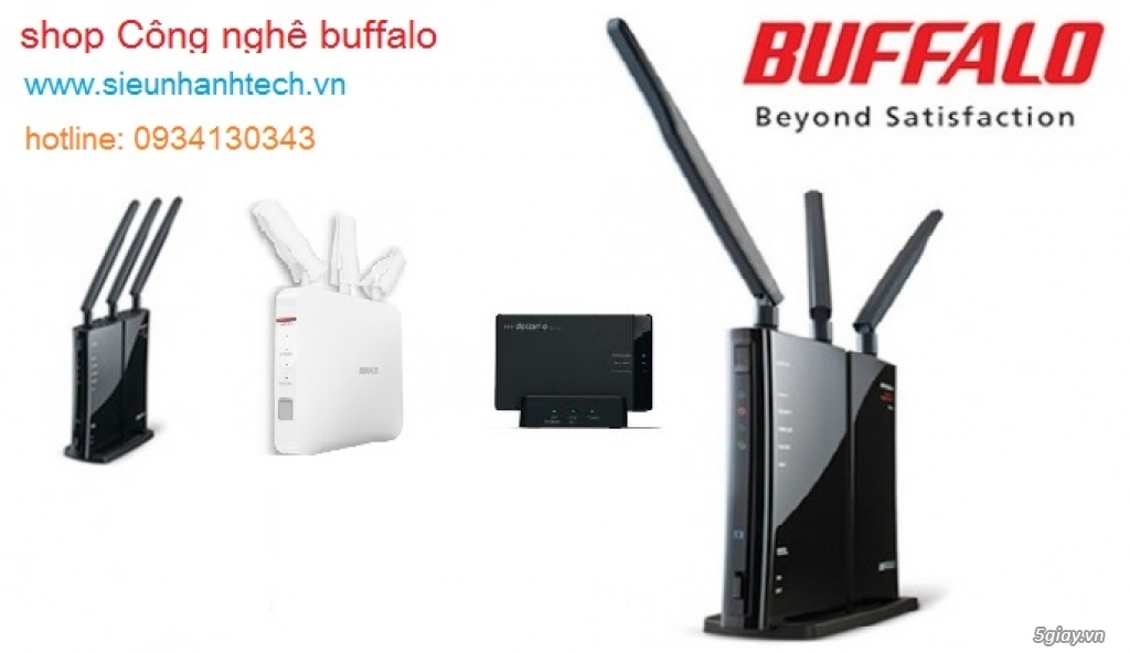 HCM cung cấp Router Wifi Buffalo hàng Nhật Bản giá tốt nhất thị trường - 3