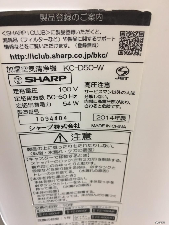 Máy Lọc Không Khí Tạo Ẩm Hàng Nội Địa Nhật GIÁ TỐT | NANOe-G  - Plasmacluster 7000 - 15