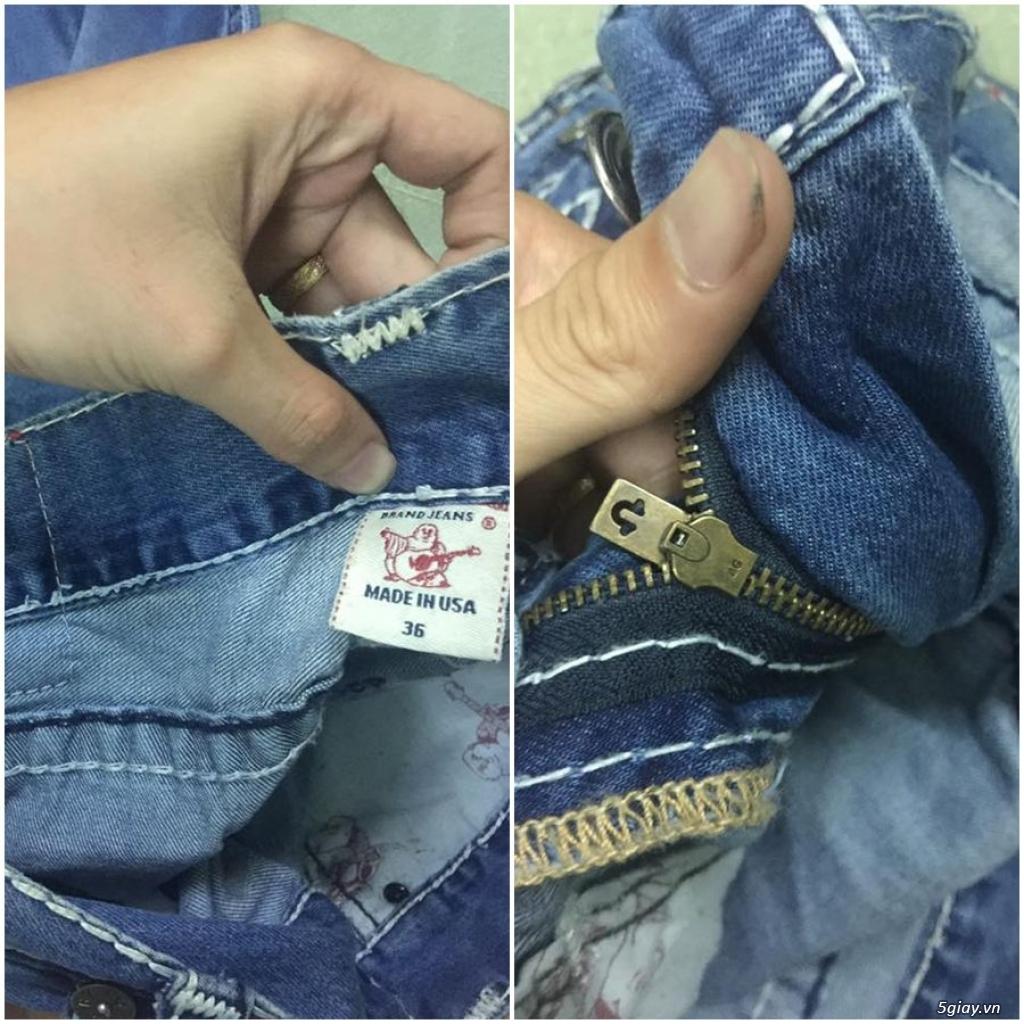 Quần jean si đa ( 2hand ) của các hãng Ông địa , D&G , A/X...  nhập từ USA , Italy ... - 10