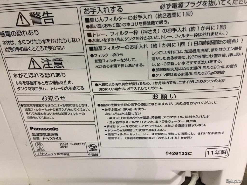 Máy Lọc Không Khí Tạo Ẩm Hàng Nội Địa Nhật GIÁ TỐT | NANOe-G  - Plasmacluster 7000 - 9