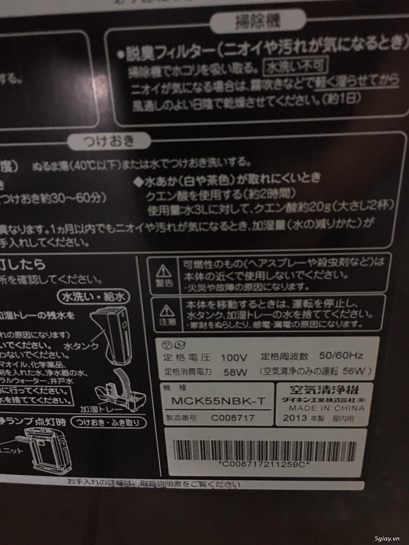 Máy Lọc Không Khí Tạo Ẩm Hàng Nội Địa Nhật GIÁ TỐT | NANOe-G  - Plasmacluster 7000 - 3