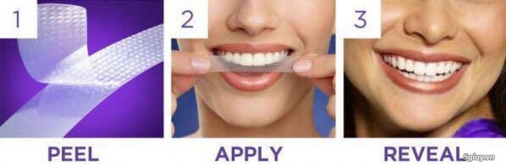 CREST Miếng dán trắng răng Supreme Professional - USA - 5