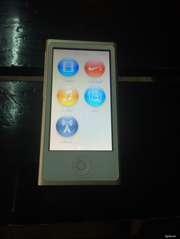 Bán 1 Ipod nano gen 7 16Gb màu gold giá tốt - 6