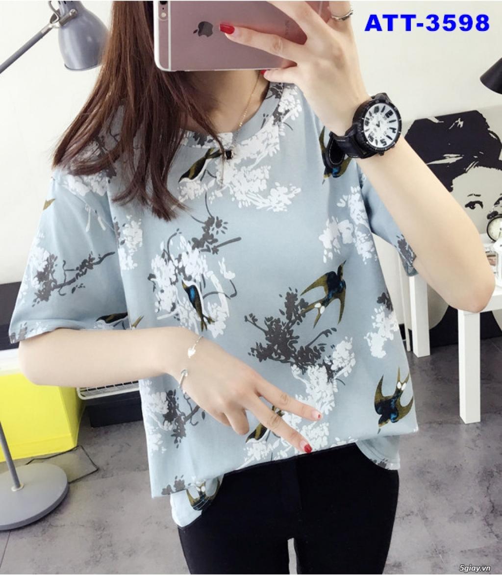 Shop bán sỉ áo thun nữ kiểu form rộng tay lỡ xẻ tà ở tphcm