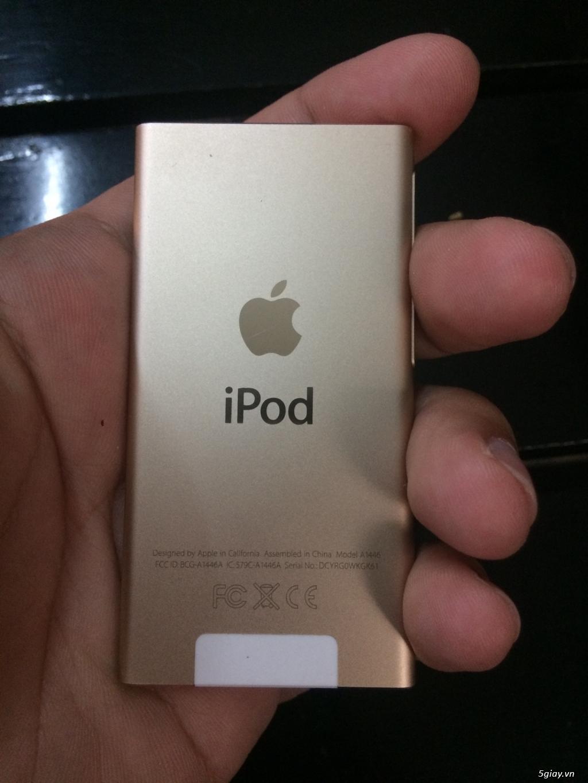 Bán 1 Ipod nano gen 7 16Gb màu gold giá tốt - 3