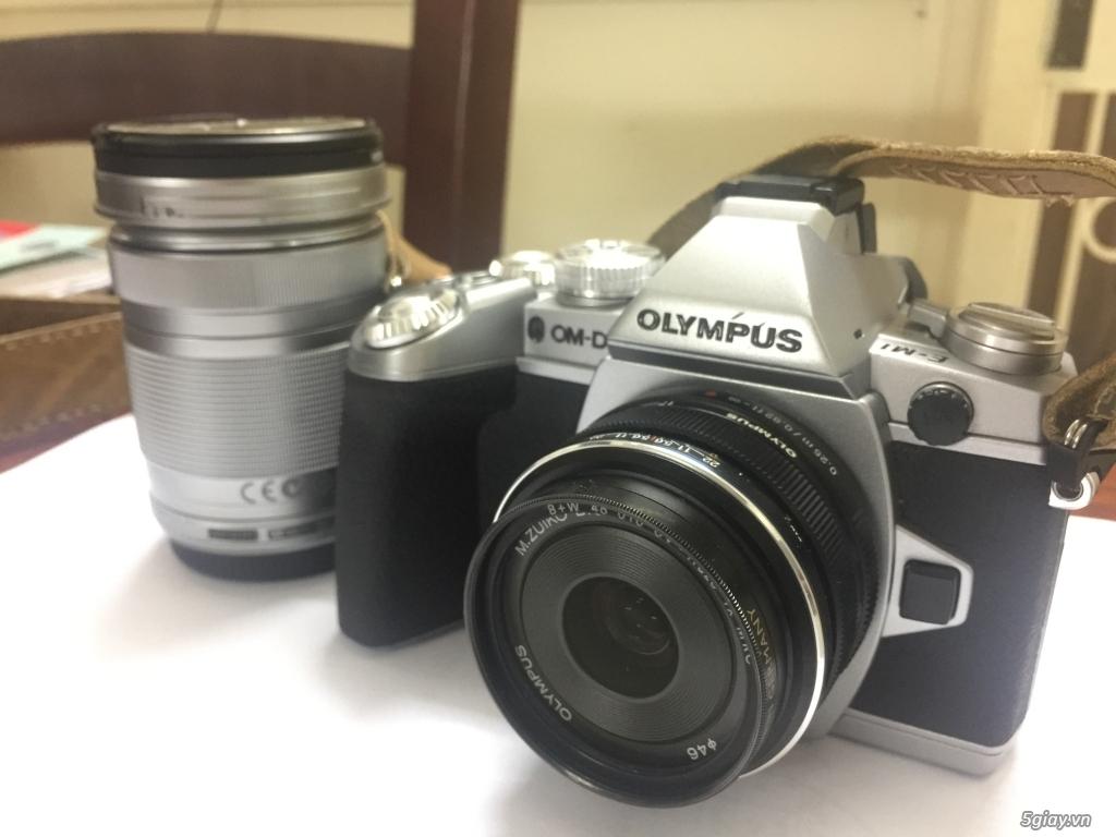 Bán combo Olympus OMD EM1 + M.Zuiko 17mm f1.8 & 40-150mm f4-5.6 - 2