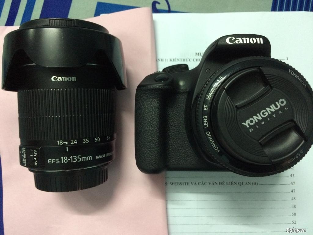 1200D và 2 lens - 1