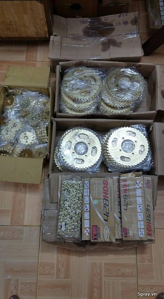 Nhông sên đĩa GN125, GZ125HS, GZ150A, EN150A, GN250,... - 1