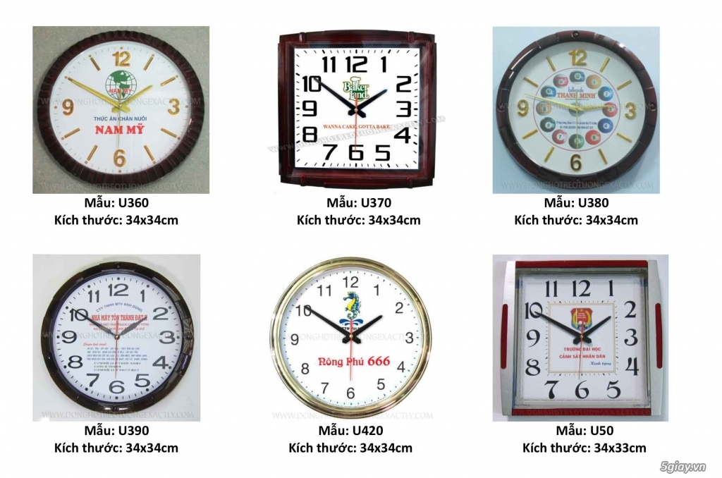 Đồng hồ treo tường - 4