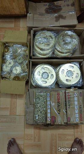 Nhông sên đĩa GN125, GZ125HS, GZ150A, EN150A, GN250,...