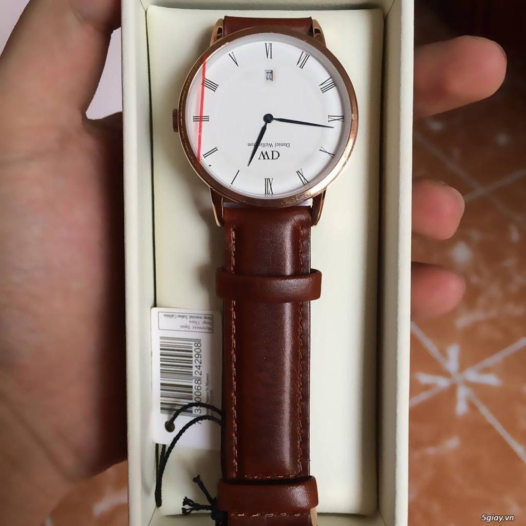 Đồng hồ xịn Daniel Wellington giá rẻ chỉ với 100usd - 3
