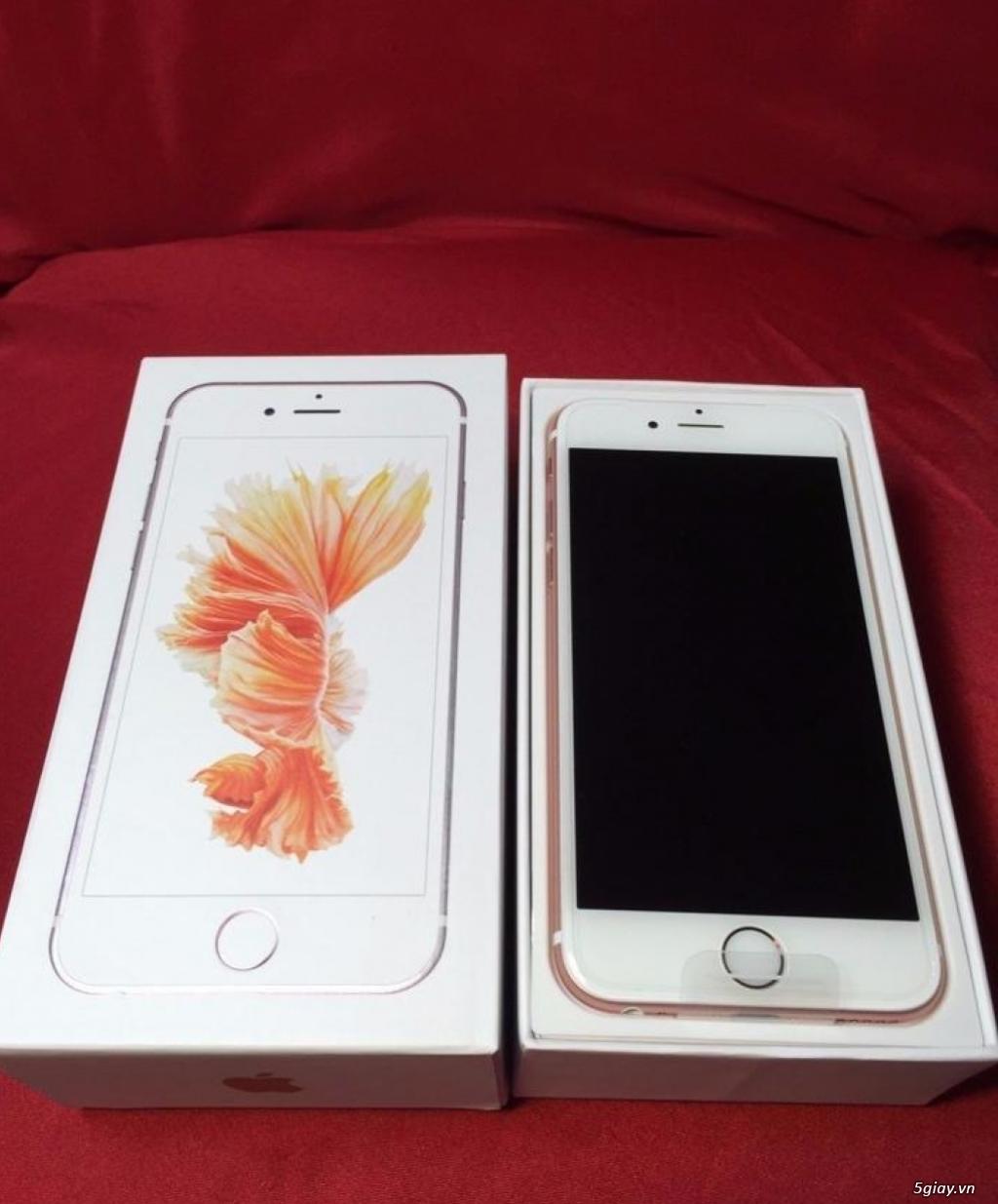 Iphone 6s Plus Gold Rose 128G USA (Mỹ) - 1