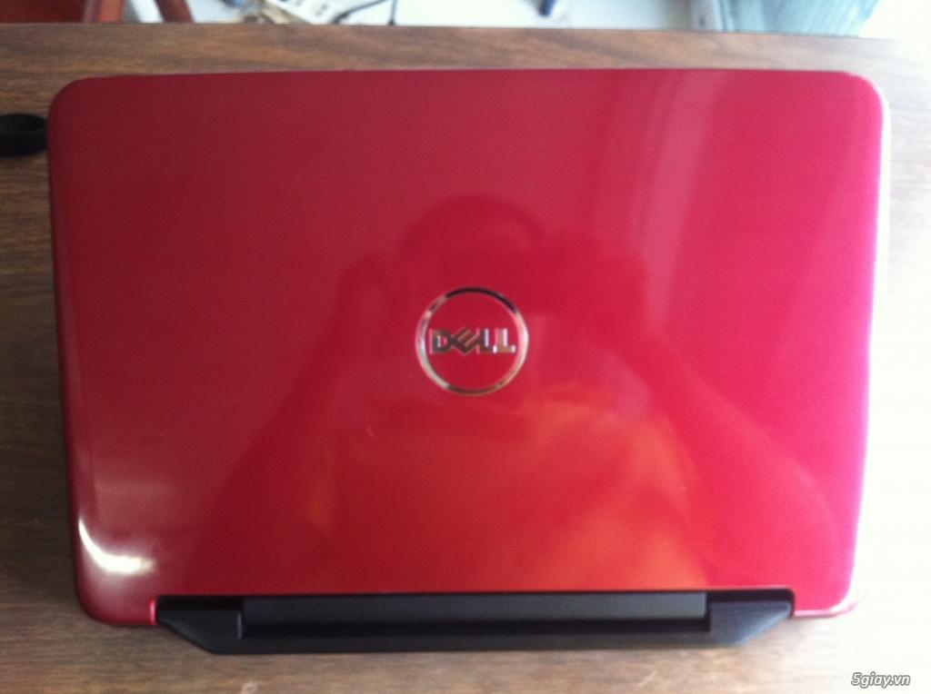 Dell inspiron N4050 màu đỏ còn rất đẹp, 98,99%, core i5 - 2450 (2.5GHz)