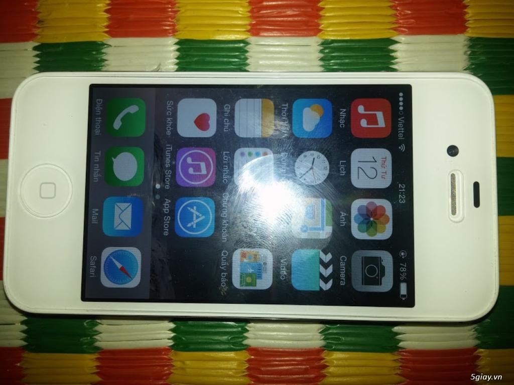 iPhone 4S quốc tế mới 100% chưa active nguyên seal chỉ 2.399.000 đồng - 10