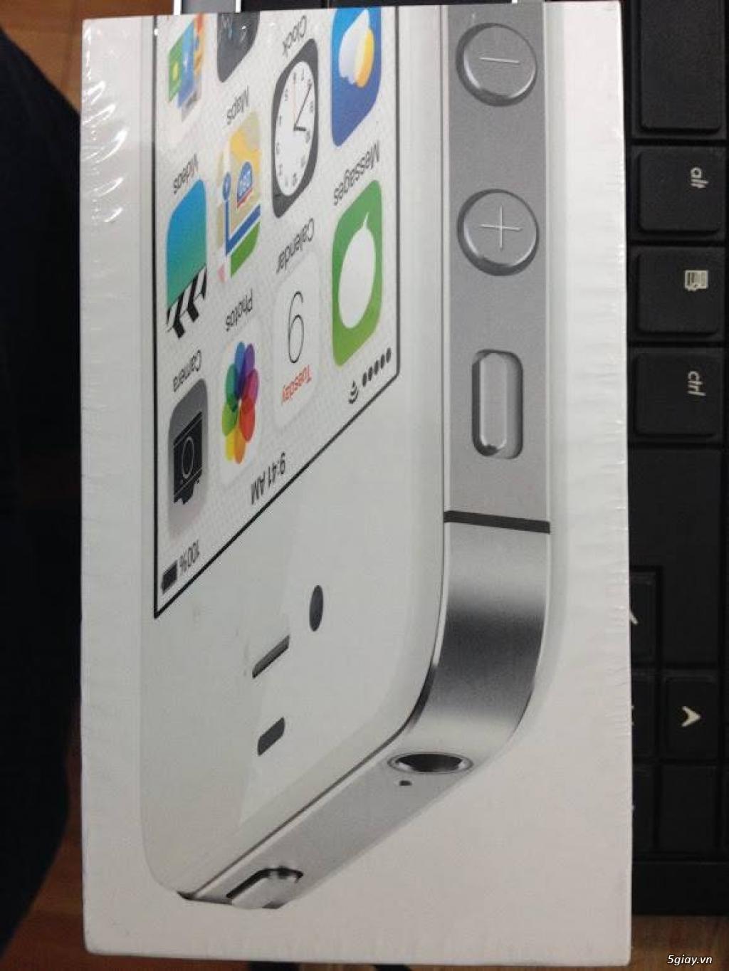 iPhone 4S quốc tế mới 100% chưa active nguyên seal chỉ 2.399.000 đồng - 11