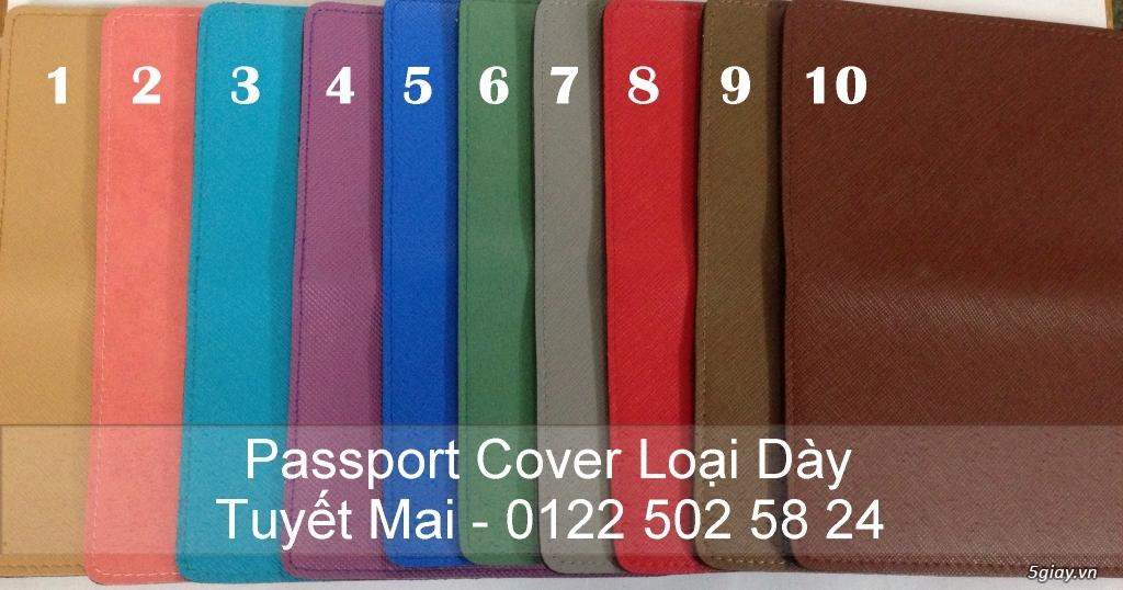 Vỏ bảo vệ Hộ Chiếu ( Passport cover, Passport Holder ) cực độc - 20