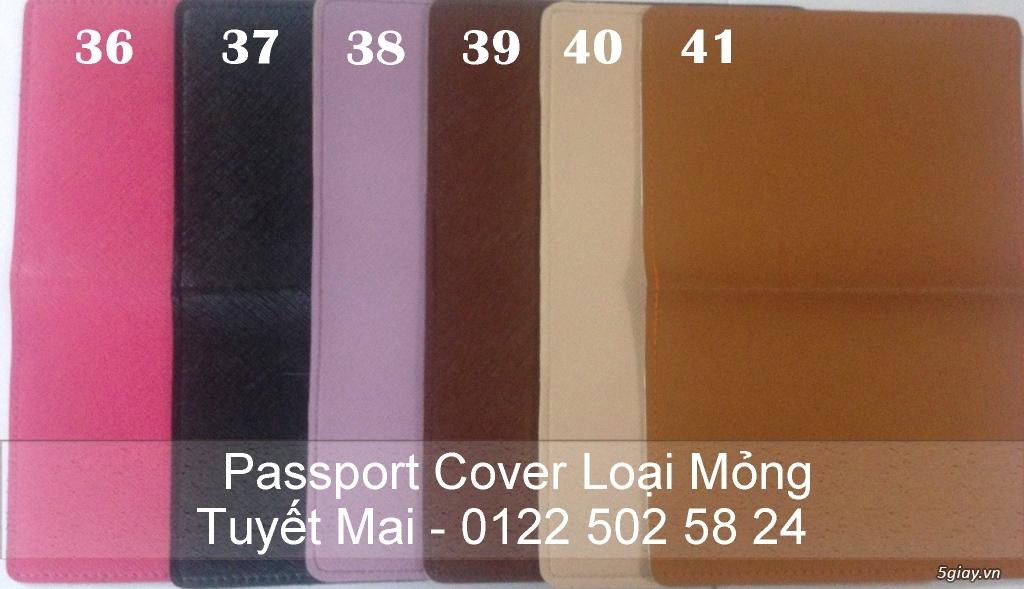 Vỏ bảo vệ Hộ Chiếu ( Passport cover, Passport Holder ) cực độc - 28