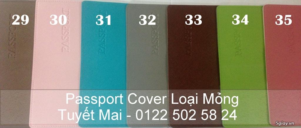 Vỏ bảo vệ Hộ Chiếu ( Passport cover, Passport Holder ) cực độc - 26