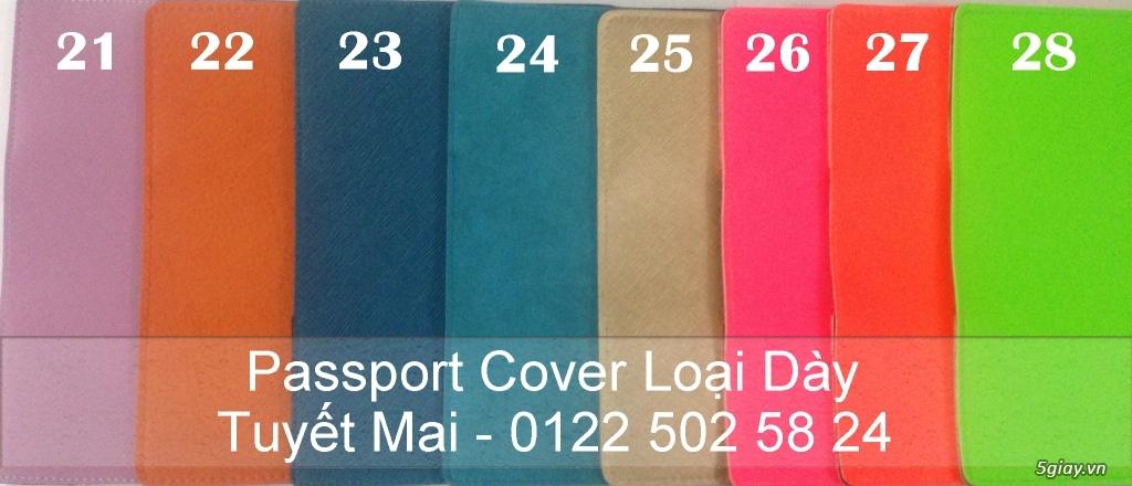 Vỏ bảo vệ Hộ Chiếu ( Passport cover, Passport Holder ) cực độc - 24