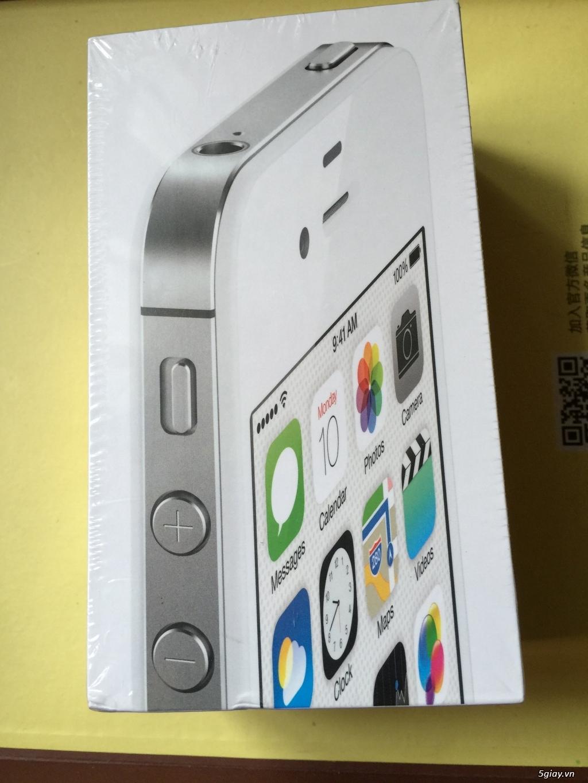 iphone 4s 8G Màu Trắng quốc tế CH/A Fullbox nguyên seal chưa active mới 100%