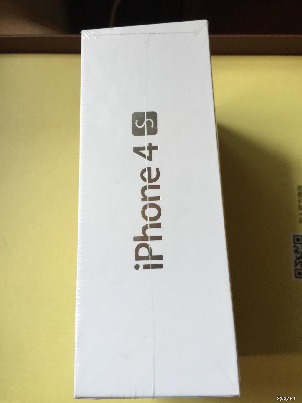 iphone 4s 8G Màu Trắng quốc tế CH/A Fullbox nguyên seal chưa active mới 100% - 1