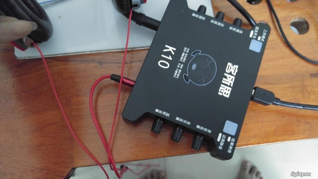 Sound card k10 giá 950k