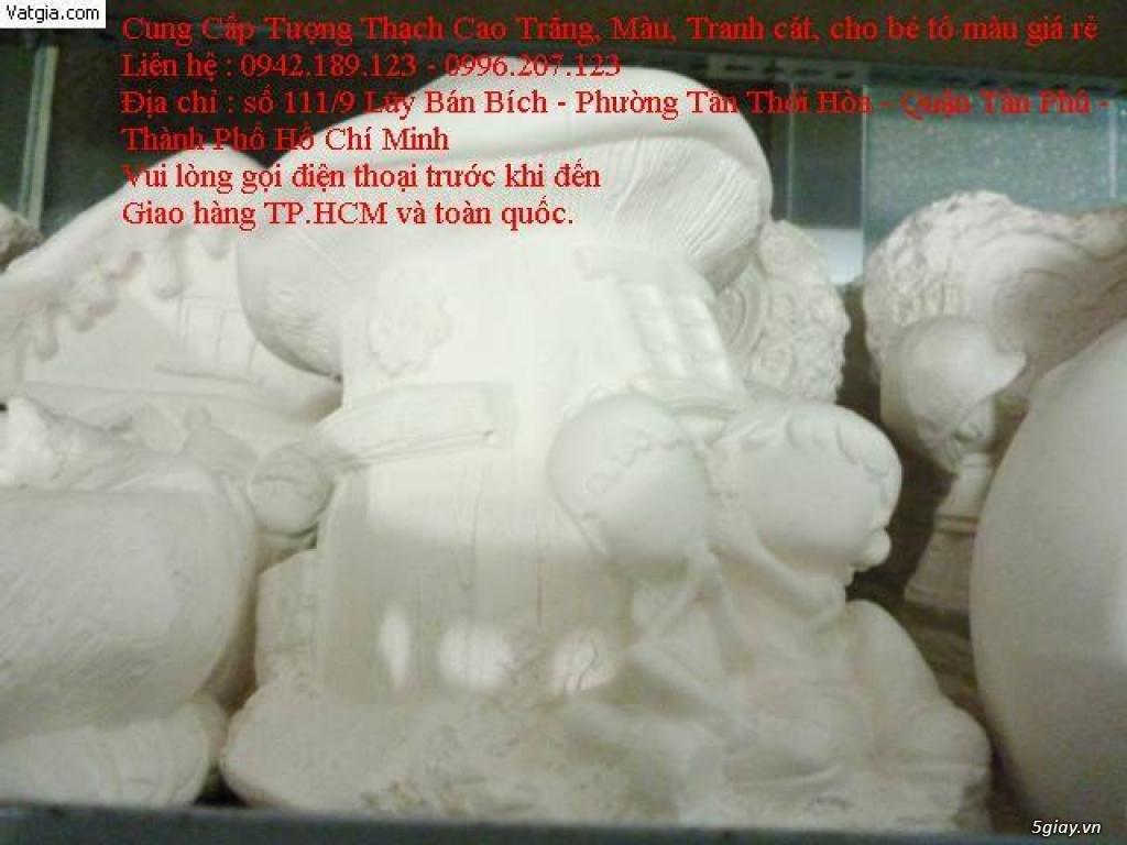 Liên hệ : 0942.189.123 - cung cấp sỉ tượng thạch cao trắng - tranh cát - cát màu - màu nước - 7