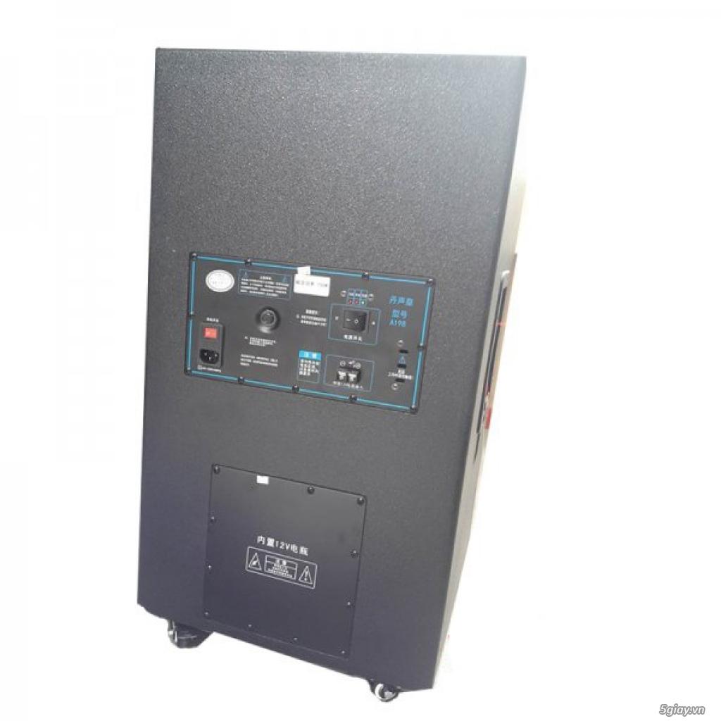 Loa di động hát karaoke giá rẻ, loa vali kéo di động tại HCM - 3