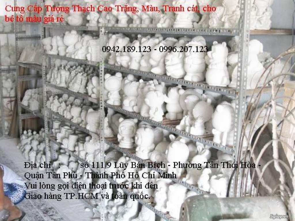Bán sỉ tượng thạch cao giá sỉ từ 400đ -> 4000đ/con - SDT 0942.189.123 - 2