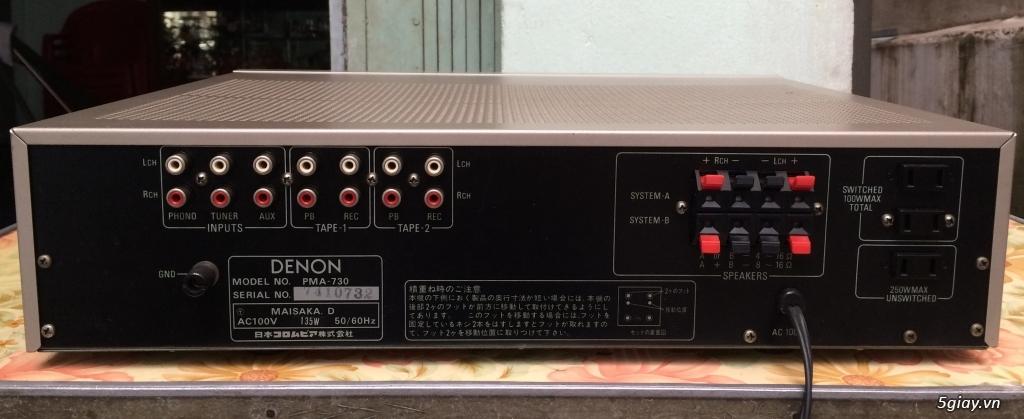 Bose 301-III, 201-III, amly, loa nội địa - 11