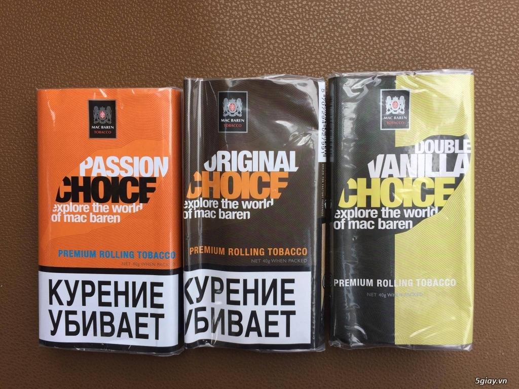 thuốc lá sợi tự cuốn thơm đầy đủ hương vị của hãng Mac Baren - 2
