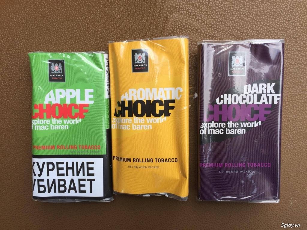 thuốc lá sợi tự cuốn thơm đầy đủ hương vị của hãng Mac Baren - 3