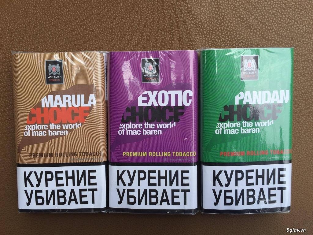 thuốc lá sợi tự cuốn thơm đầy đủ hương vị của hãng Mac Baren - 4