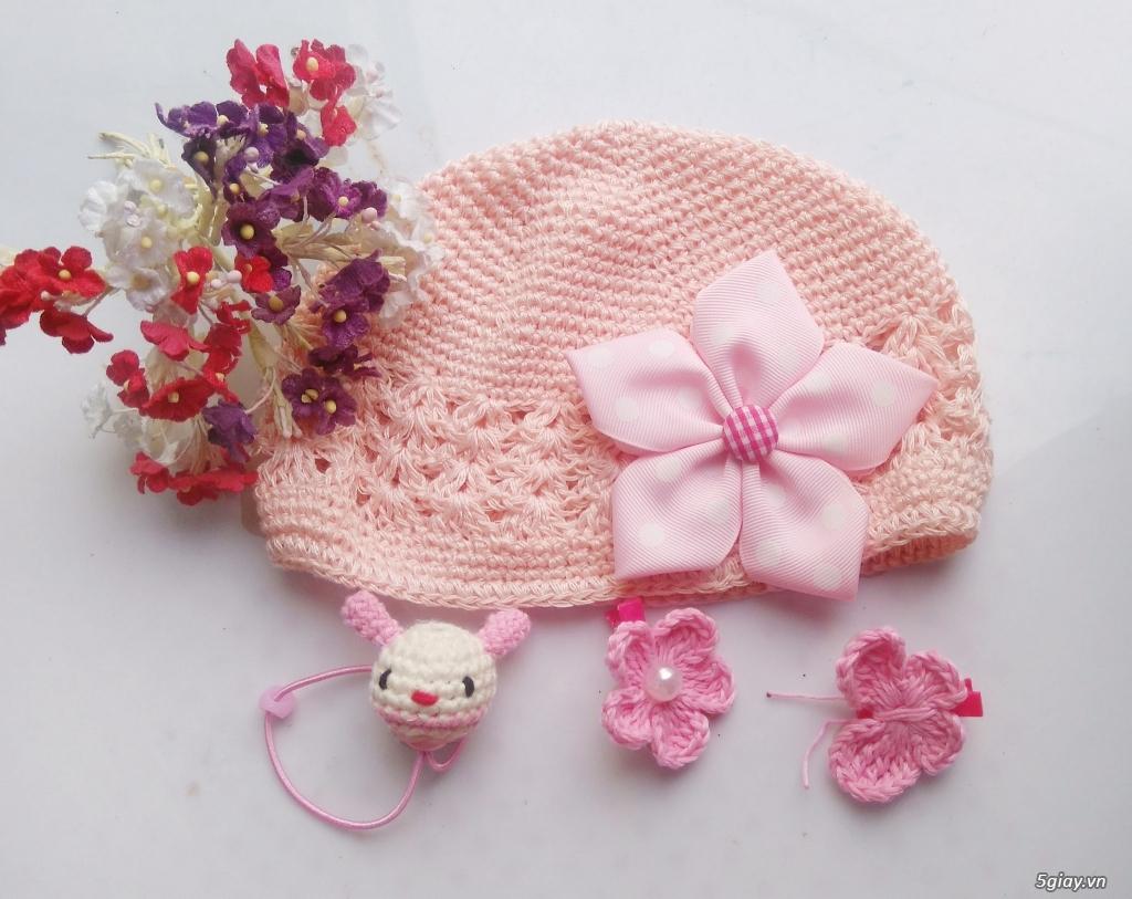 Phụ kiện handmade :turban, băng đô, cột, kẹp, nơ bướm - 4