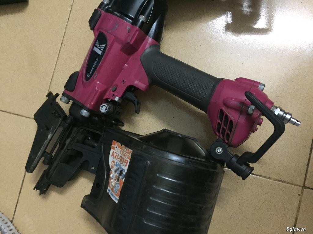 Máy bắn đinh bằng bình khí nén Mã made in japan - 2
