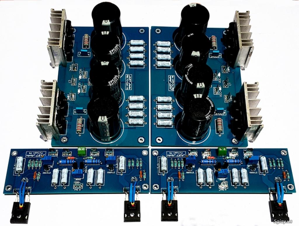 Linh kiện điện tử, PCB và DIY kit cho High-end Audio . ART Audio - 8