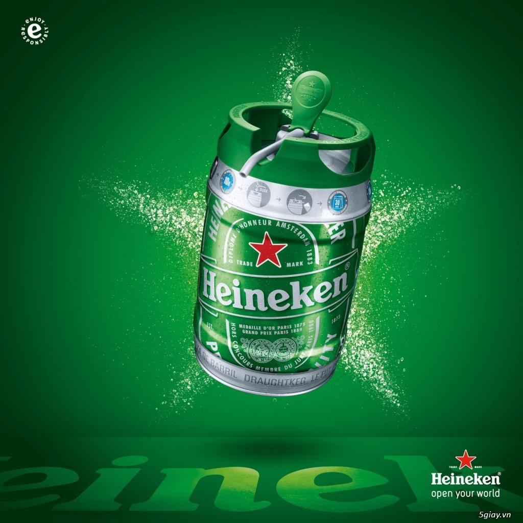 Bom Bia Heineken nhập khẩu Hà Lan - Quà tặng Sang chảnh Giá Sỉ rất tốt - 13