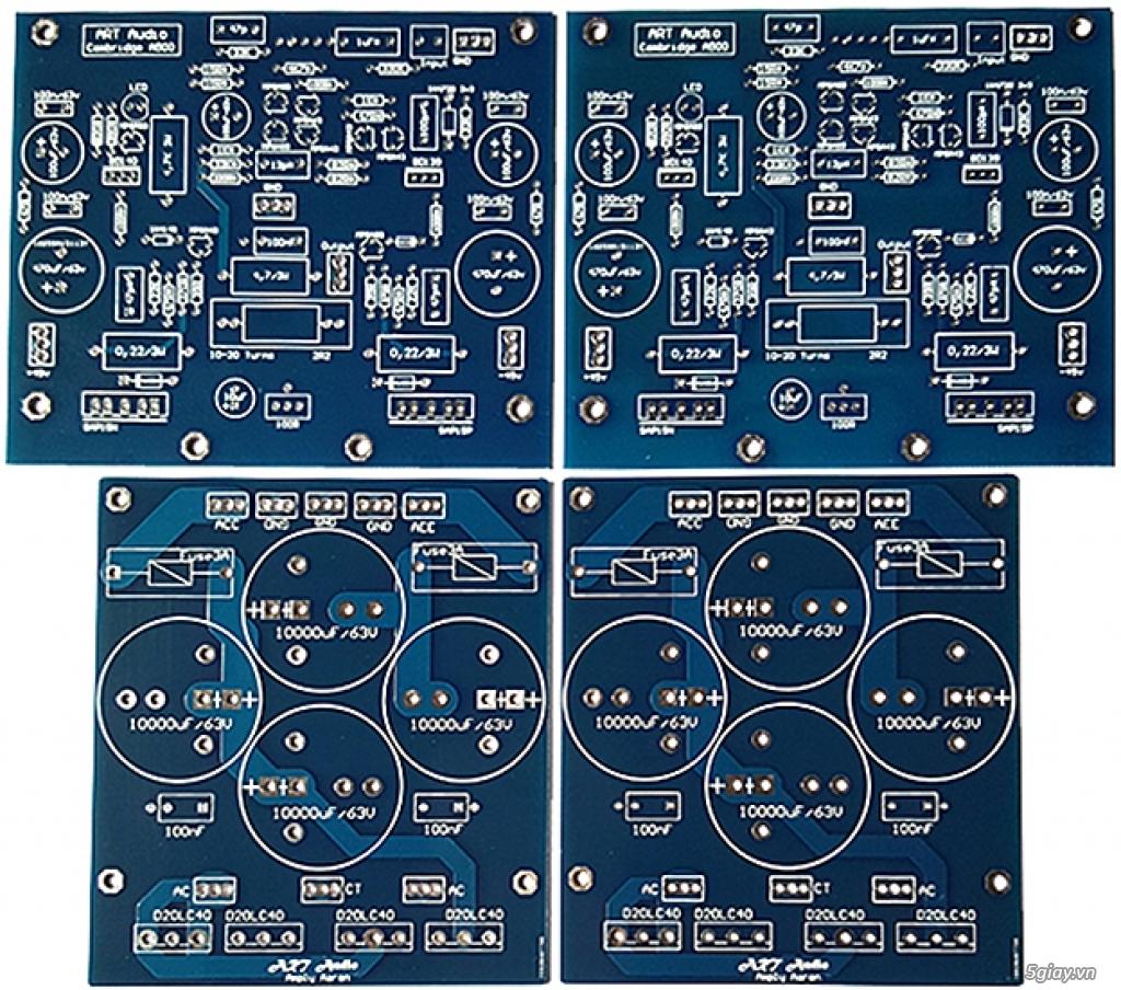 Linh kiện điện tử, PCB và DIY kit cho High-end Audio . ART Audio - 16