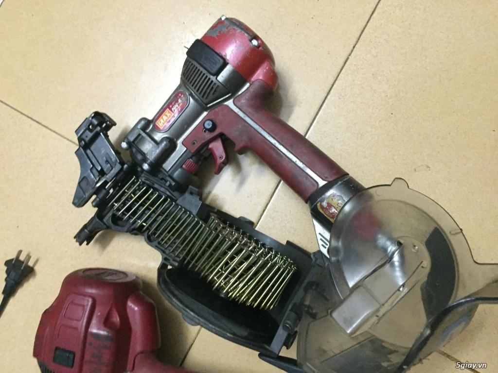 Máy bắn đinh bằng bình khí nén Mã made in japan - 3